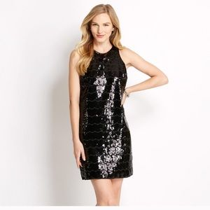 {Vineyard Vines} Sequin Shift Dress Sleeveless